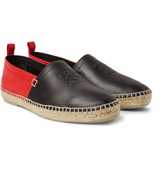 Loewe - Two-Tone Leather Espadrilles