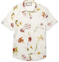 Gucci - Slim-Fit Floral-Print Cotton Shirt