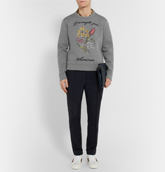 Gucci Embroidered Cotton Sweatshirt