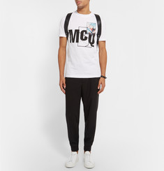 McQ Alexander McQueen - Slim-Fit Printed Cotton T-Shirt