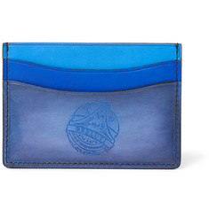 Berluti Tri-Tone Burnished Venezia Leather Cardholder