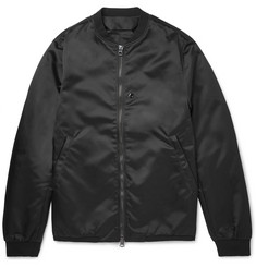 Acne Studios Selo Light Satin-Shell Bomber Jacket