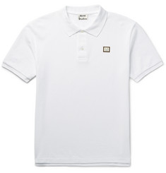 Acne Studios Slim-Fit Kolby Cotton-Piqué Polo Shirt