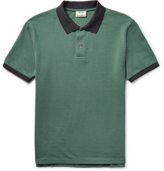 Acne Studios - Kolby Slim-Fit Cotton-Piqué Polo Shirt