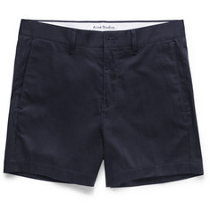 Acne Studios - Seymour Satin Cotton-Blend Chino Shorts