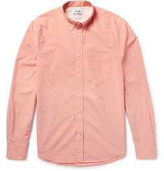 Acne Studios - Isherwood Slim-Fit Button-Down Collar Cotton-Poplin Shirt