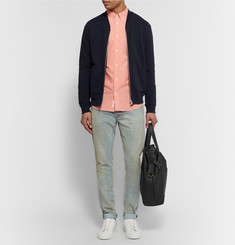 Acne Studios Isherwood Slim-Fit Button-Down Collar Cotton-Poplin Shirt