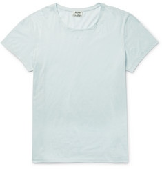 Acne Studios - Standard O Mercerised Cotton-Jersey T-Shirt