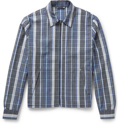 Acne Studios Malcom Checked Wool-Jacquard Jacket