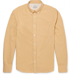 Acne Studios Isherwood Button-Down Collar Cotton-Twill Shirt