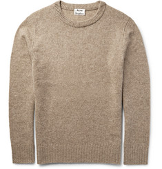 Acne Studios Jena Mélange Wool-Blend Sweater
