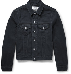 Acne Studios Slim-Fit Overdyed Denim Jacket