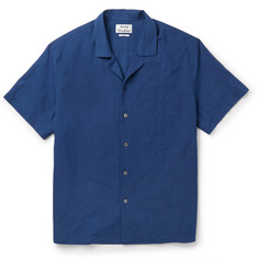 Acne Studios Ody Camp-Collar Cotton Shirt