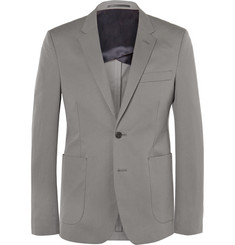 Acne Studios - Grey Stan Slim-Fit Cotton-Twill Blazer