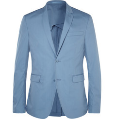 Acne Studios Blue Aron Slim-Fit Cotton-Blend Suit Jacket
