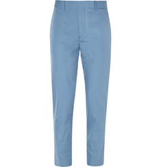Acne Studios Blue Aron Slim-Fit Cotton Suit Trousers