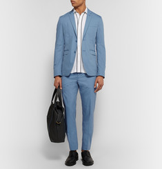 Acne Studios - Blue Aron Slim-Fit Cotton Suit Trousers