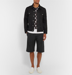 Acne Studios Fleau Tech-Jersey Shorts