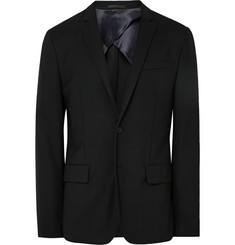 Acne Studios - Black Jack Travel Slim-Fit Wool-Piqué Blazer