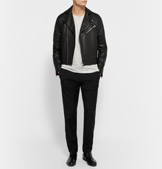 Acne Studios Gibson Leather Biker Jacket