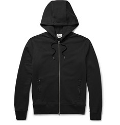 Acne Studios - Johna Zip-Up Loopback Cotton-Jersey Hoodie