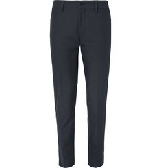 Acne Studios - Navy Stan Slim-Fit Cotton-Twill Trousers
