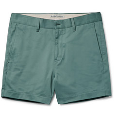 Acne Studios - Seymour Satin Slim-Fit Stretch-Cotton Chino Shorts
