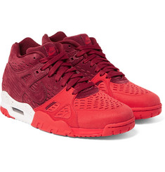 Nike - Air Trainer 3 LE Suede High-Top Sneakers