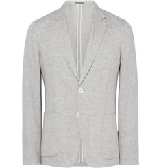 Paul Smith London Grey Soho Slim-Fit Linen Blazer