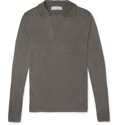 Gieves & Hawkes - Knitted Silk Polo Shirt