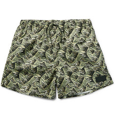 Acne Studios Perry Printed Mid-Length Swim Shorts