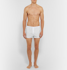 Acne Studios Boxa Stretch-Pima Cotton Boxer Briefs