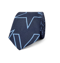 Givenchy 6.5cm Printed Cotton Tie