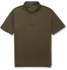 Alexander Wang - T by Alexander Wang Slim-Fit Cotton-Piqué Polo Shirt