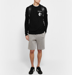Alexander Wang Appliquéd Knitted Sweater