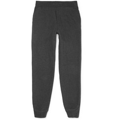 Alexander Wang Fleece-Back Cotton-Blend Sweatpants