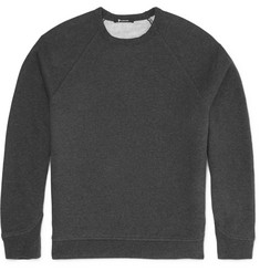 Alexander Wang T by Alexander Wang Fleece-Back Cotton-Blend Sweatshirt