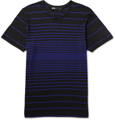 Y-3 - Soundwave Striped Cotton-Jersey T-Shirt