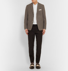 Thom Browne Slim-Fit Embroidered Cotton Oxford Shirt