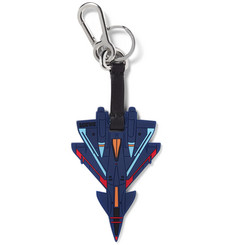 Loewe Rubber and Leather Spaceship Keyring