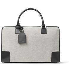 Loewe - Amazona 44 Leather-Trimmed Canvas Holdall
