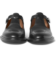 Givenchy - Cutout Leather Shoes