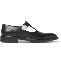Givenchy Cutout Leather Shoes
