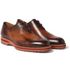 Berluti - Alessio Burnished-Leather Oxford Shoes