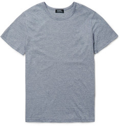 A.P.C. - Slim-Fit Striped Cotton-Jersey T-Shirt