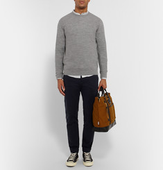 A.P.C. Slim-Fit Waffle-Knit Merino Wool Sweater