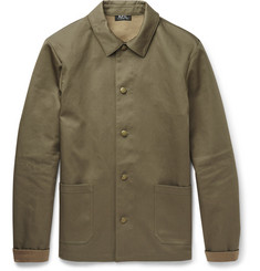A.P.C. Slim-Fit Cotton-Canvas Jacket