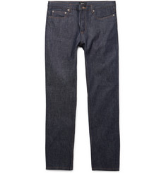 A.P.C. - Low Standard Slim-Fit Dry Selvedge Denim Jeans