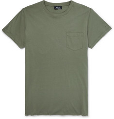 A.P.C. - Slim-Fit Cotton-Jersey T-Shirt