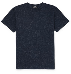 A.P.C. - Slim-Fit Mélange Cotton-Blend T-Shirt